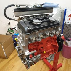 VW Polo Honda racing engine 16V