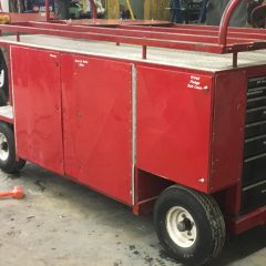 Pit Cart with tool box